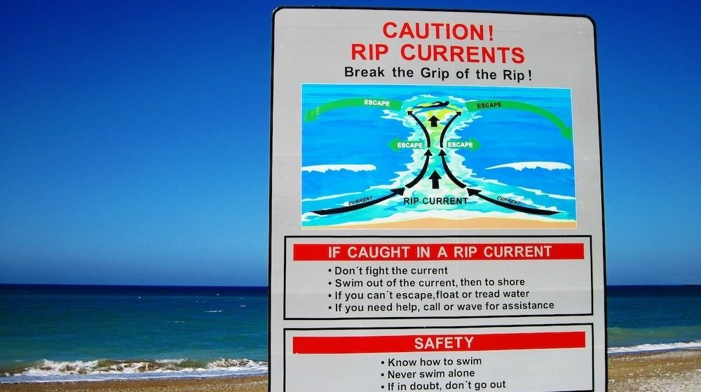 Current Events: How To Survive A Rip Current