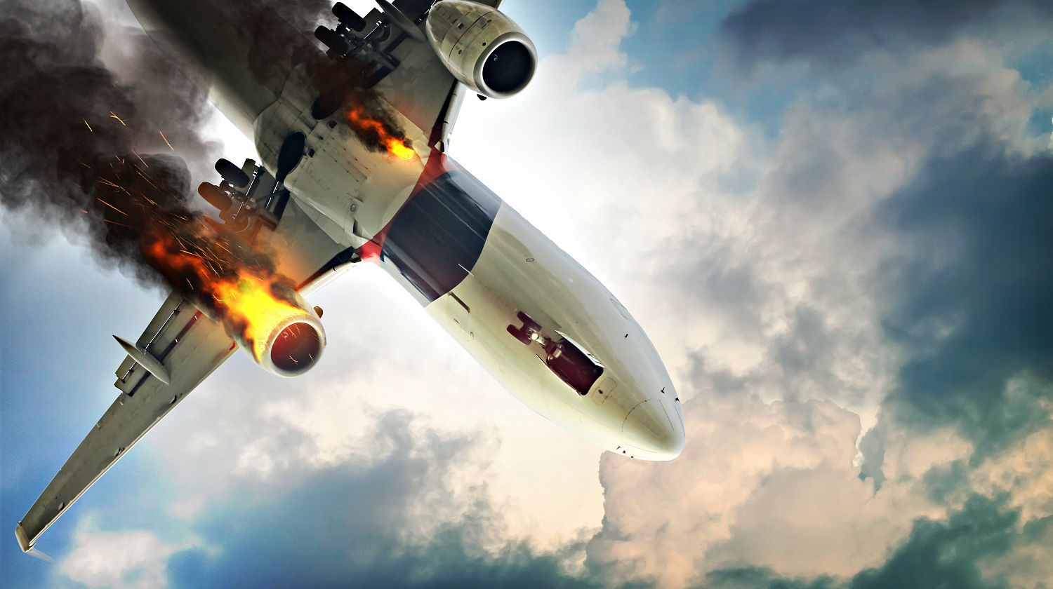 Featured   Flame of airplane engine   How To Survive A Plane Crash   Safety And Preparedness Tips