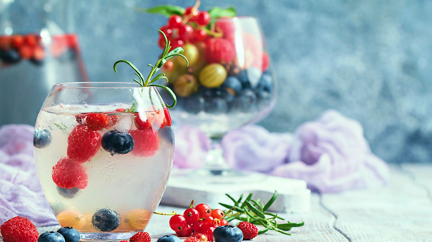 Refreshing summer homemade cocktail with berries | Camping Desserts and Cocktails… And We're Not Talking Molotov | Featured