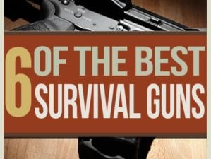 find the best survival weapons, combat rifles, handguns, and shooting supplies