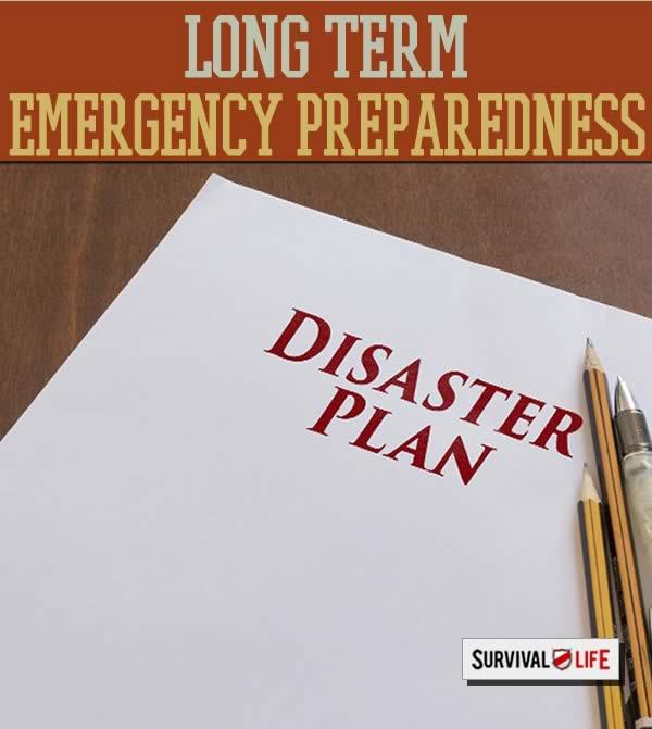 long term emergency prep