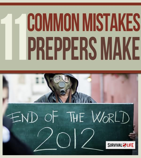 prepper, survivalist, preppers, common mistakes, advice for preppers. survival tips