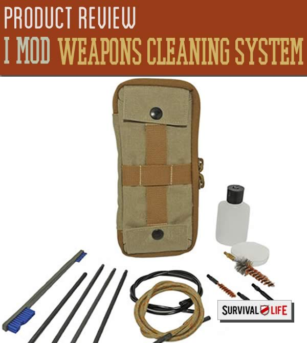 i mod cleaning system, weapons cleaning, weapons cleaning systems, survival gear reviews