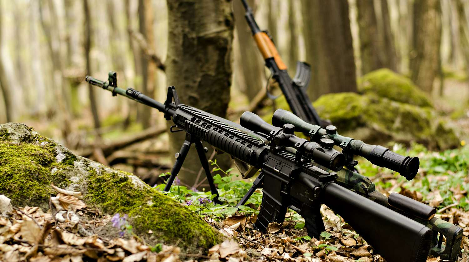 Featured | Sniper rifle on bipod on ground background | Sniper Rifle Facts | Things You Didn't Know About Sniper Rifles