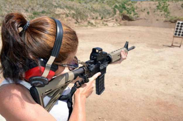 Shooting Stance and Determining Your Dominant Eye   AR-15 Basics: Shooting the AR-15