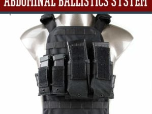 Product Review: The Abdominal Ballistics System (ABS) by AR500 Armor by Survival Life at http://survivallife.staging.wpengine.com/2015/05/19/abdominal-ballistics-system/