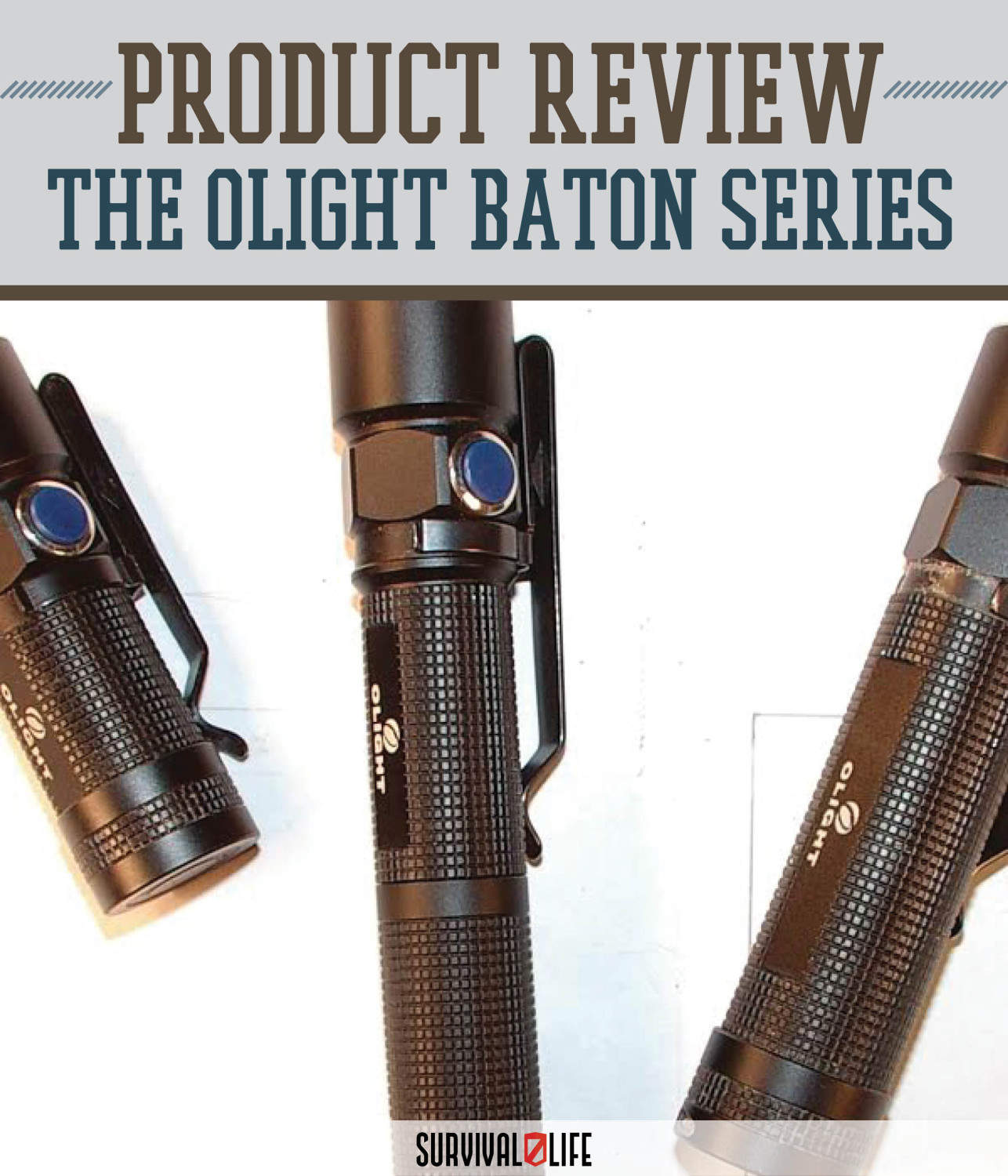 Product Review: Olight Baton S10, S15 and S20 by Survival Life at http://survivallife.staging.wpengine.com/2015/05/08/product-review-olight-baton/