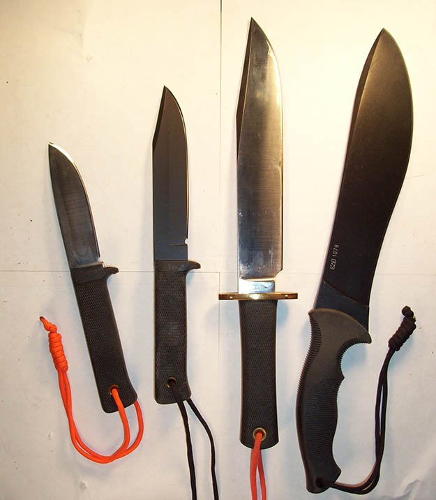 Choosing a Fixed Blade Survival Knife (Part 2) by Survival Life at http://survivallife.staging.wpengine.com/2015/07/22/fixed-blade-survival-knife-pt2