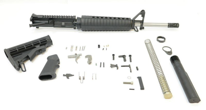 building an AR-15 from the ground up