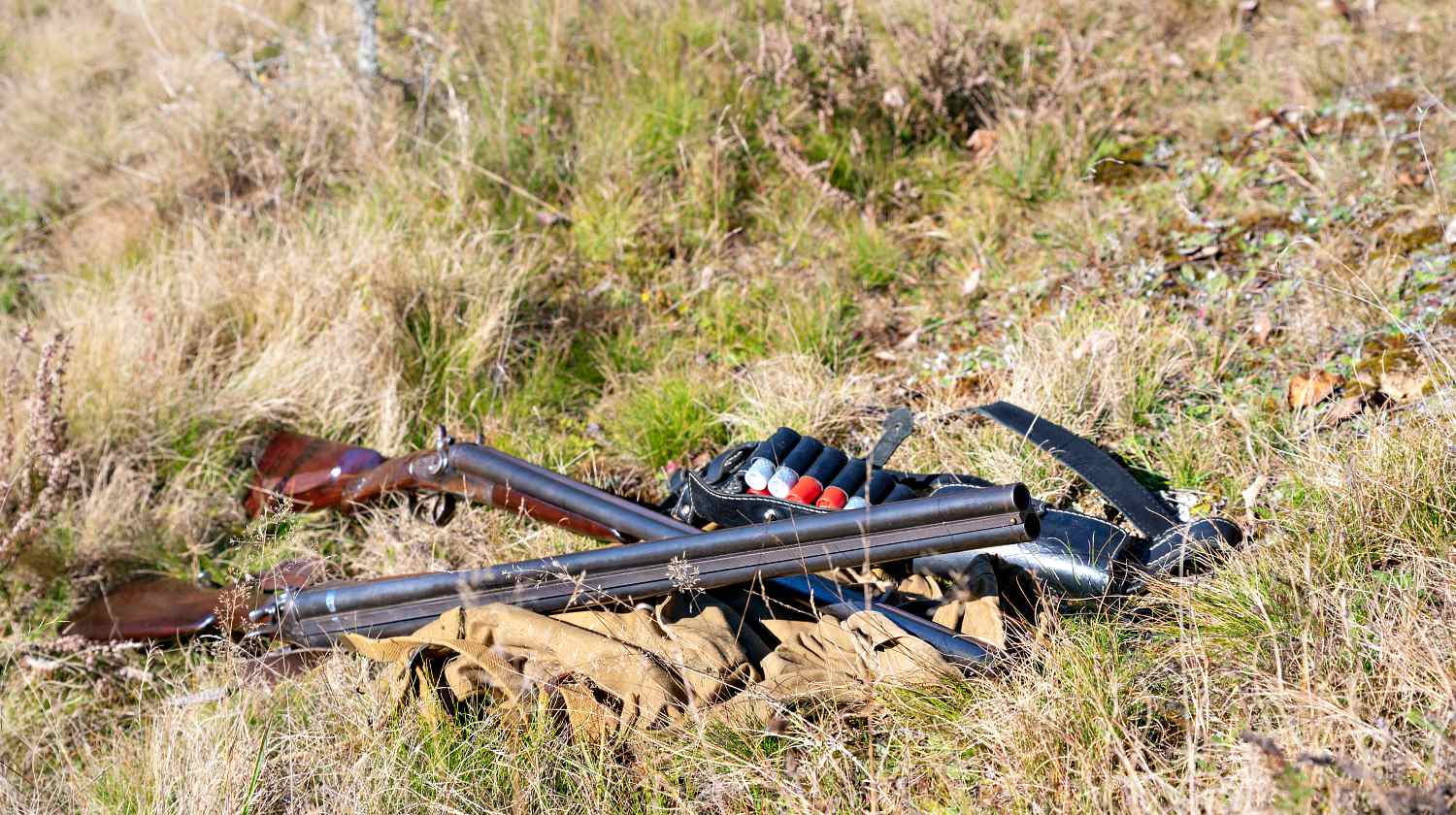 Feature | Hunting Gear on the ground in the forest | .270 Winchester: Made For The Hunting Grounds