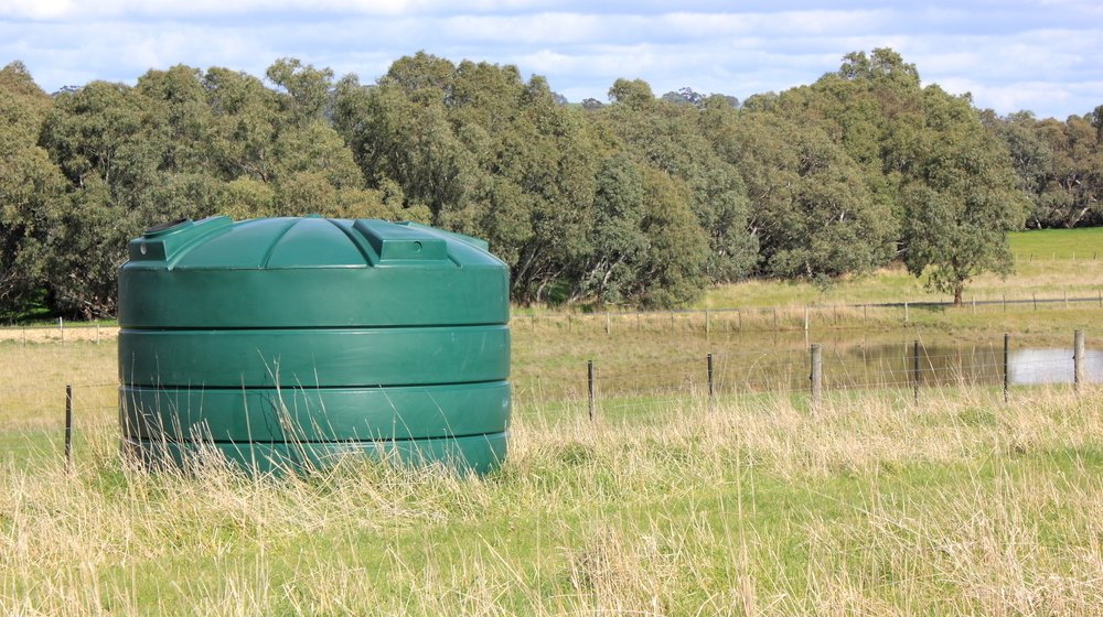 water storage feature ss