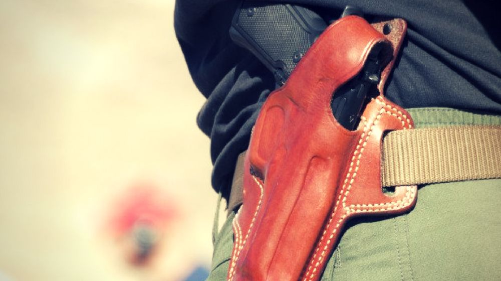 Feature | Can't Draw From Your Holster at the Range? Range Drills: Part 1 | drawing a handgun