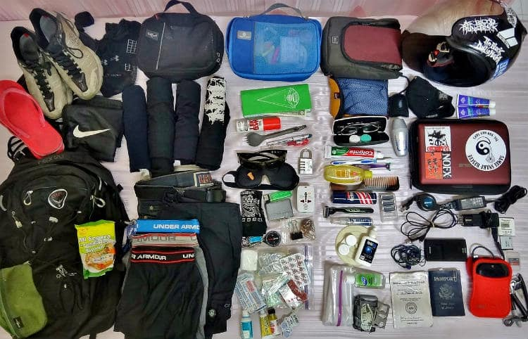 spring cleaning bug out bag FEAT