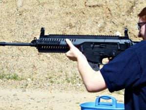 Feature | Woman training shooting | AR-15 Basics: Shooting the AR-15