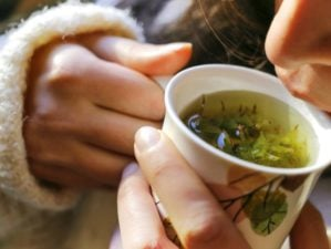 Woman drinking tea | Home Remedies For Cold And Flu | Surprisingly Simple Natural Relief