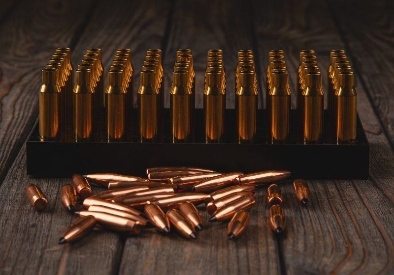 Heavy hunting bullets and prepared casings Best caliber for self defense SS