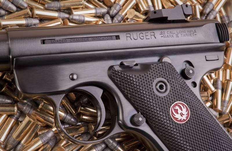 Ruger Mark III target pistol real guns for kids