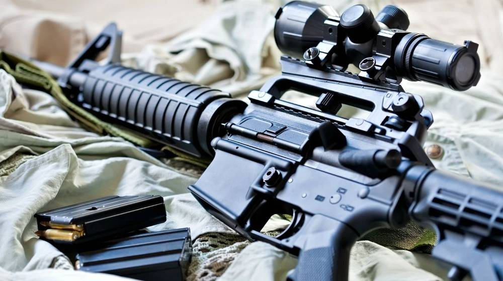 Feature | AR-15 rifle and magazines with ammo | AR-15 Basics: A Guide To The AR-15 Platform