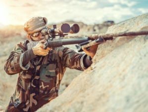 Soldier Using His Rifle | Breakdown of the .338 Lapua
