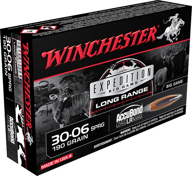 Winchester 30-06 Springfield – Expedition Big Game Rounds | Top Long Range Hunting Cartridges