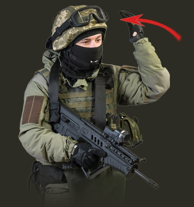 Palm On Your Head | Tactical Hand Signals You Should Know