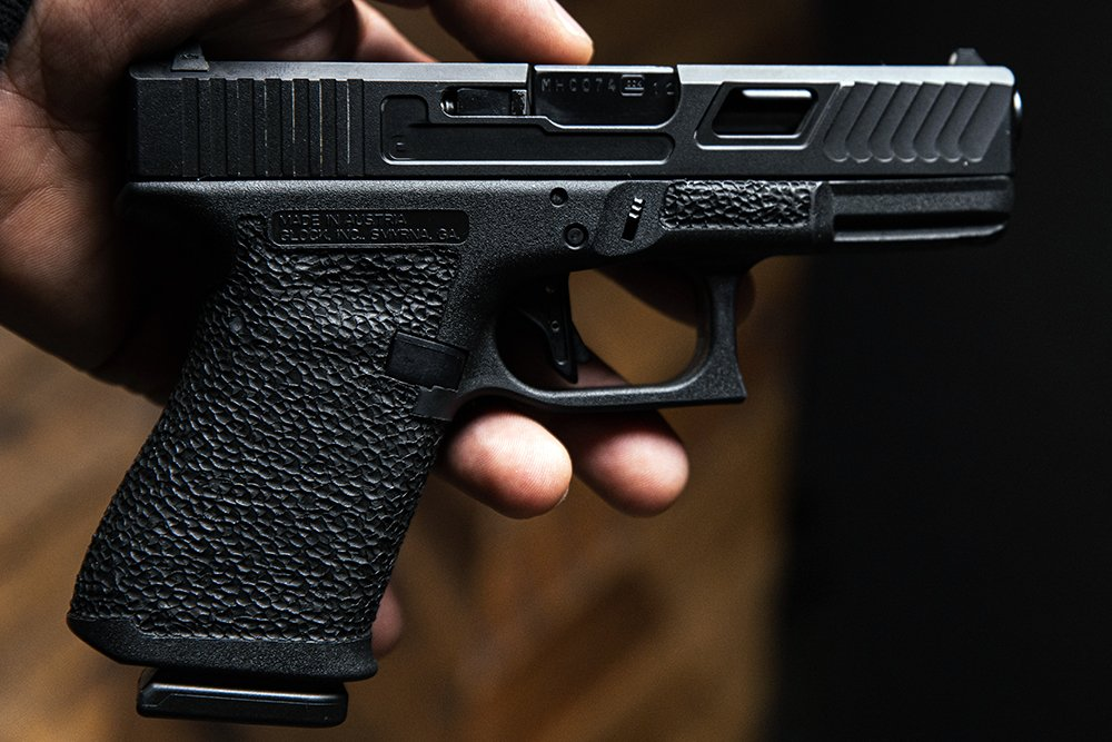 How to Stipple a Glock