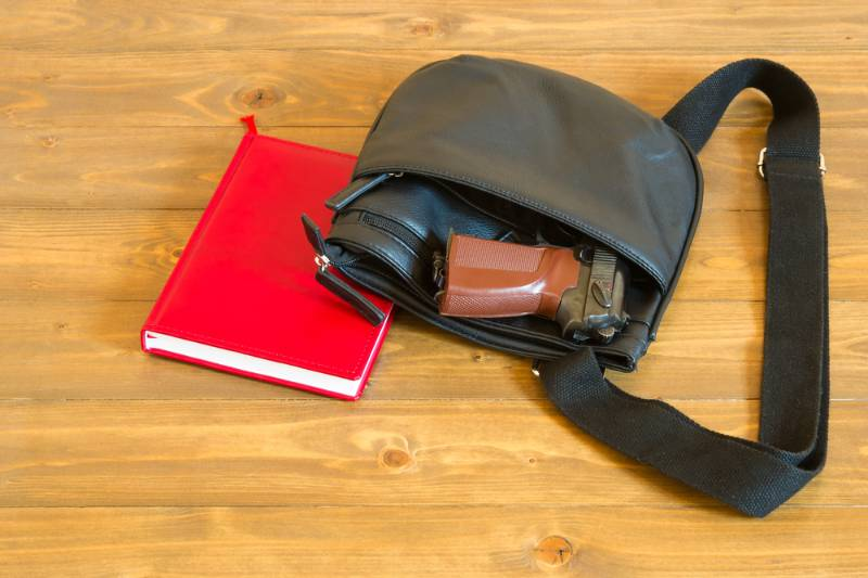 arms-lies-students-bag-concept | concealed carry
