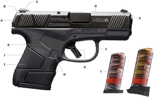 Mossberg MC1-sc | Best Concealed Carry Handguns for Women