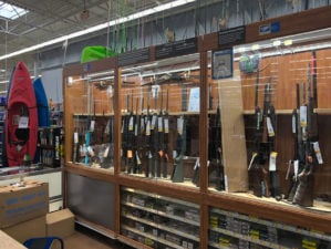 walmart pulls guns and ammo ahead of election