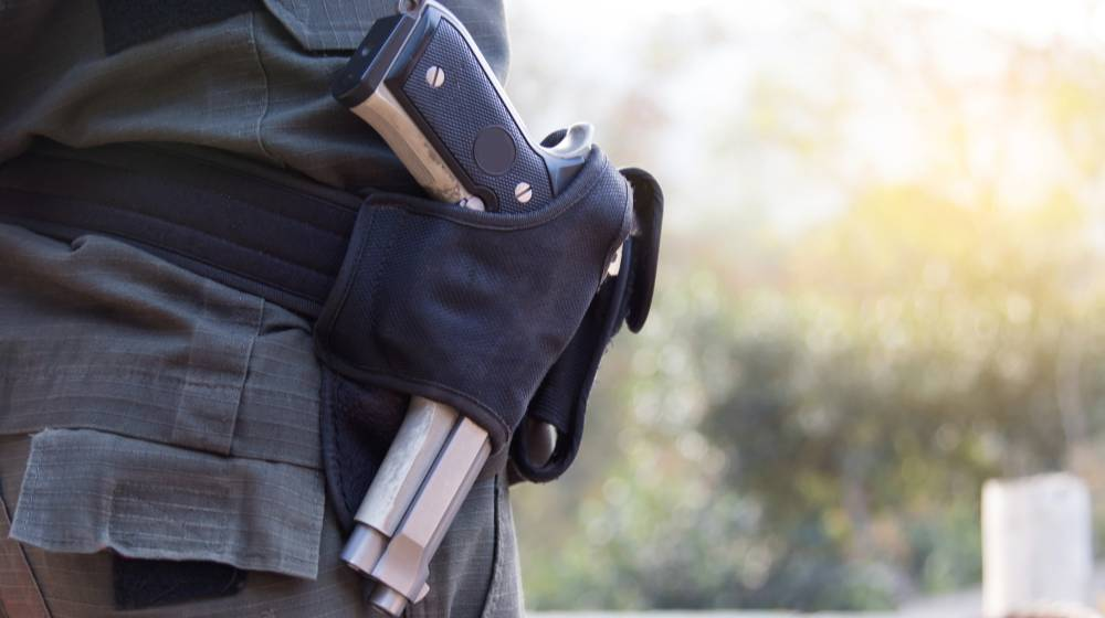 police-officer-gun-belt   Gear Review: Urban Carry Holster, Yay Or Nay?   featured