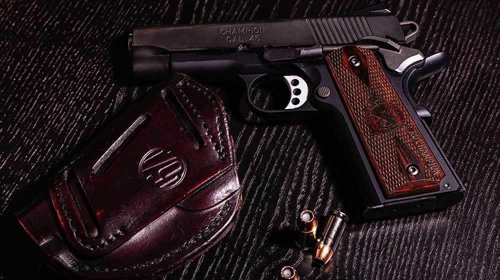gun with bullets | bore snake