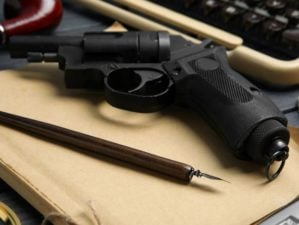 revolver-ink-pen-vintage-notebook-on | Nullification Definition And Purpose | Gun Freedom Radio [LISTEN] | Featured