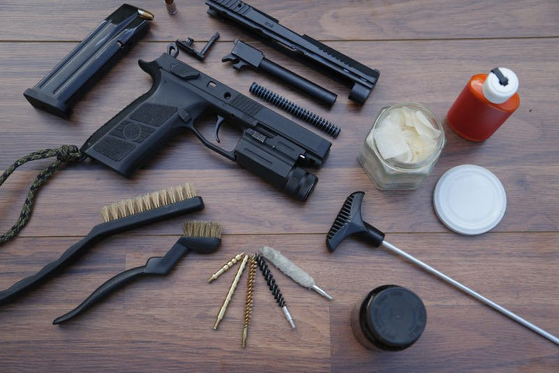 Pistol stripping and cleaning tools | ruger mark iv hunter