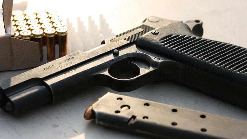 A beautiful gun and pistol shoot in the air | psa dagger 9mm review