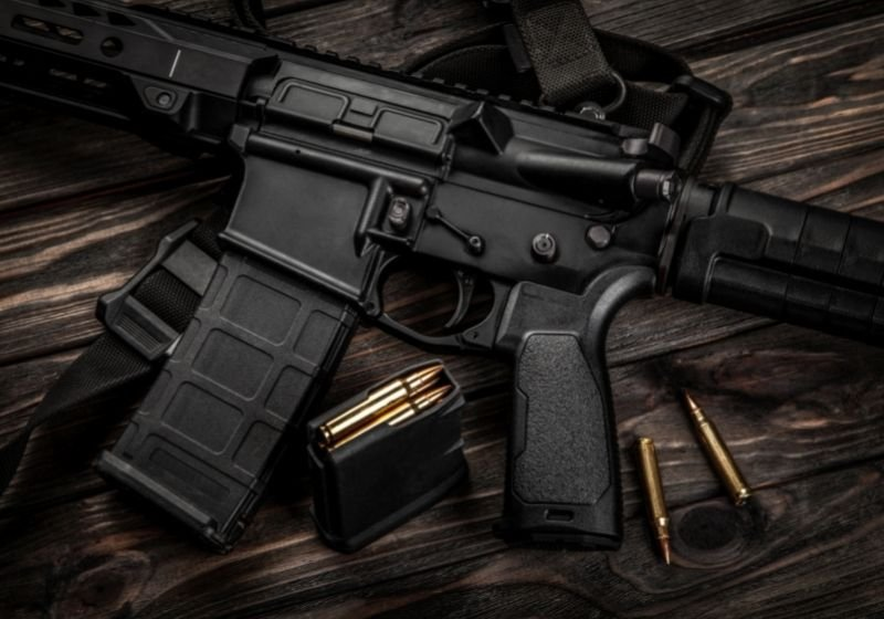 Modern automatic carbine and cartridges 9mm carbines SS