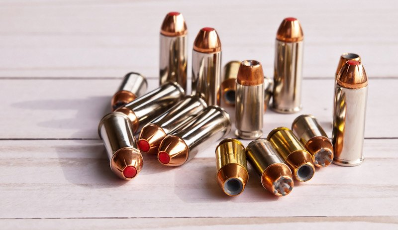 Sixteen bullets, eight 40 caliber hollow points | mercury tipped bullets