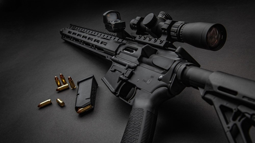 Modern automatic carbine with optical and collimator sight   Top 5 Best Sig Sauer Rifles In The World 2021   featured