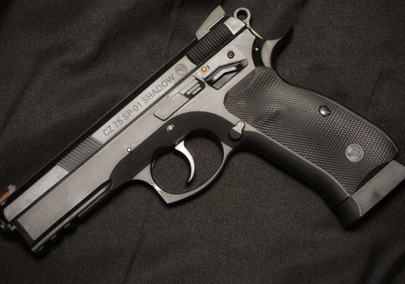 Semiautomatic pistol, model 75 sp - 01 shadow | accurate 9mm pistols