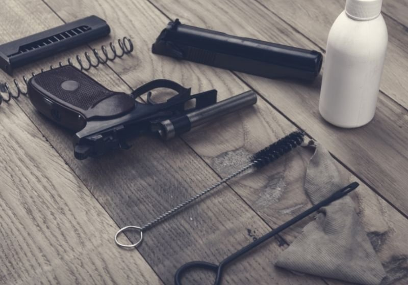 separate parts pistol cleaning kit How to clean a 9mm pistol SS