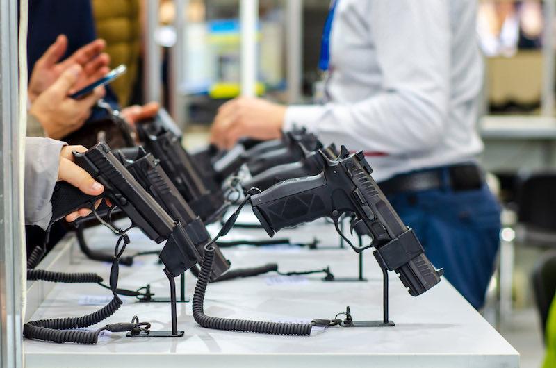 Gun Display Stands   best handguns 2021