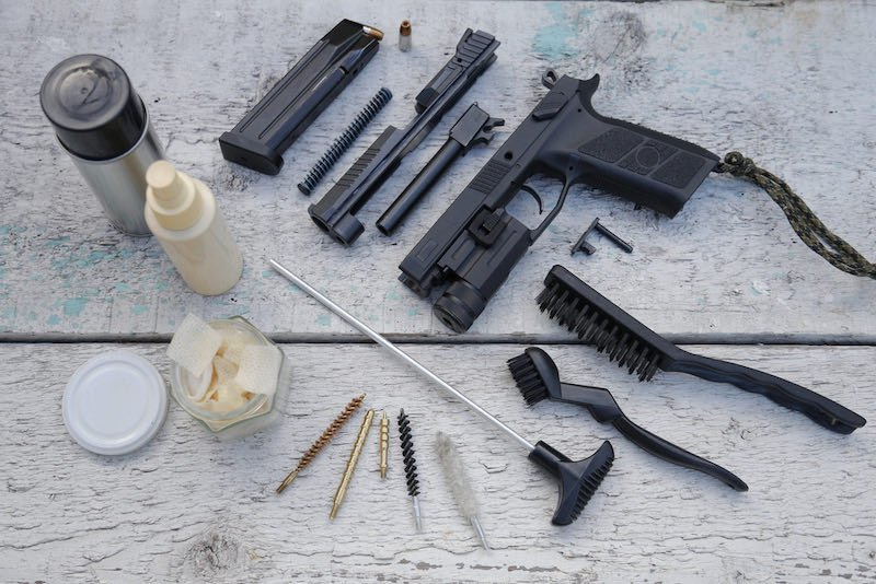 Pistol stripping and cleaning tools   smallest 9mm handgun 2021