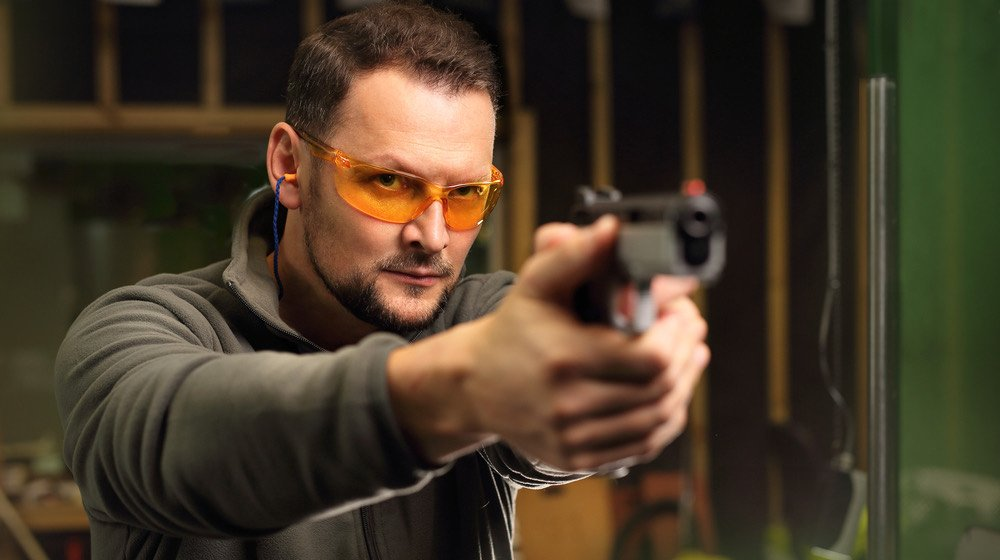 The man at the shooting range | How To Shoot A Glock | Glock Shooting Tips | featured